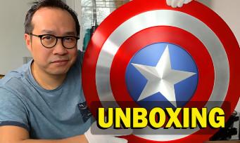 Falcon & le Soldat de l'Hiver : notre unboxing du bouclier de Captain America
