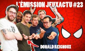 L'ÉMISSION JEUXACTU #23 : Donald Reignoux est notre invité !
