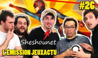 L'ÉMISSION JEUXACTU #26 : trashtalk avec Sheshounet, quiz musical JV et critique