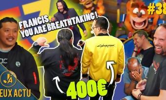 L'ÉMISSION JEUXACTU #38 : les vestes Cyberpunk à 400€, Marcus et sa journée Star