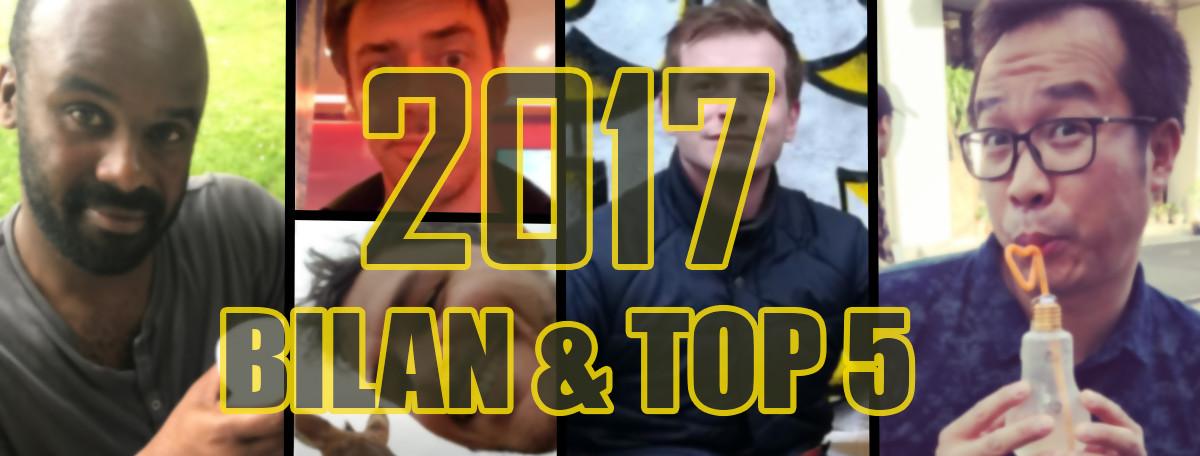 Le Top 5 des meilleurs jeux 2017 de JEUXACTU