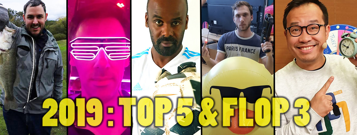 2019 : Top 5 & Flop 3 de la team Jeuxactu