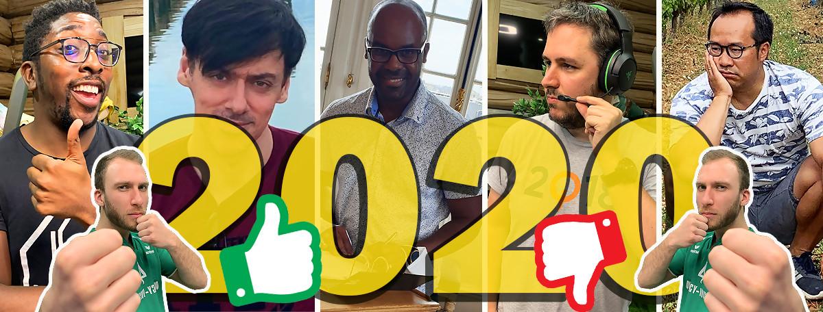 2020 : Top & Flop de JEUXACTU, l'année de la désillusion mais le GOTY acclamé