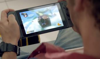 Nintendo Switch : une pub qui met en avant la mobilité de la console