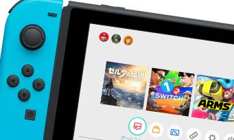 Nintendo switch : découvrez l'interface de la console en vidéo