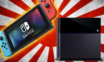 Switch : la console s'est plus vendue que la PS4 standard au Japon !