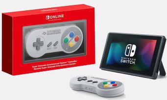 Switch : la manette Super NES officielle est disponible !