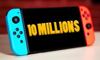 Nintendo Switch : 10 millions de consoles vendues au Japon !