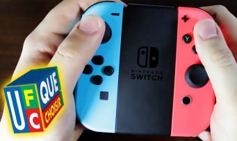 Switch : l'UFC-Que Choisir porte plainte contre Nintendo pour le Joy-Con Drift