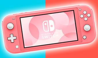 """Nintendo Switch Lite : une date pour le nouveau coloris """"Corail"""", le rendez-vous est pris"""