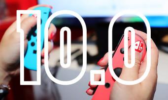 Nintendo Switch : la mise à jour 10.0 est disponible, la liste des modifs