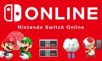 Nintendo Switch Online : le service gratuit pendant 7 jours