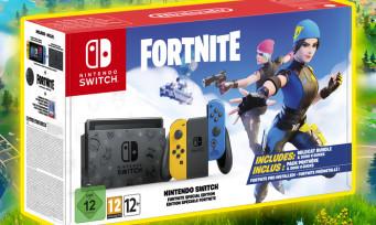 Nintendo Switch : un bundle avec Fortnite proposé, toutes les infos