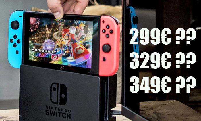 Nintendo Switch Prix En France Bundles Et Contenu De La Boite