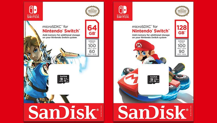 carte sd pour switch Nintendo Switch : les cartes SD bientôt obligatoires pour jouer ?