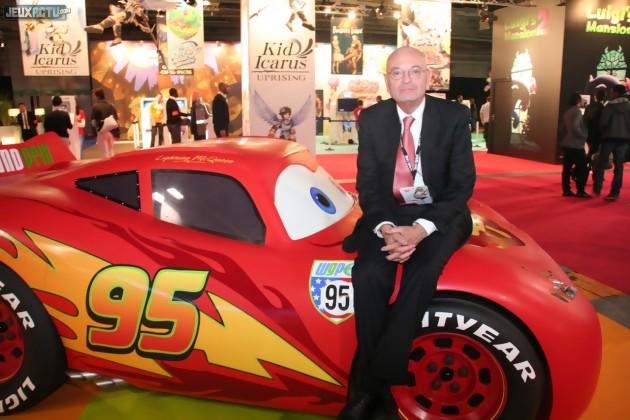 Jean-Claude Larue, Commissaire Général du SELL, lors du Paris Games Week 2011