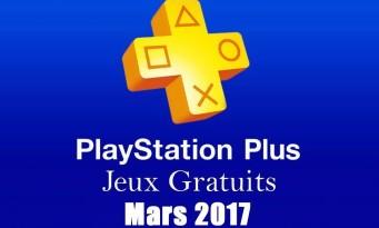 PS Plus : la liste des jeux offerts en mars 2017