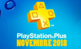 PlayStation Plus : découvrez tous les jeux du mois de novembre !