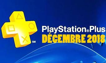 PlayStation Plus : découvrez les jeux offerts du mois de décembre !