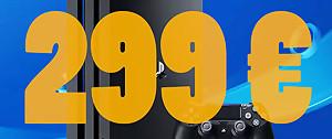 PS4 Pro : la console à 299 euros au lieu de 399, découvrez la promo ici !