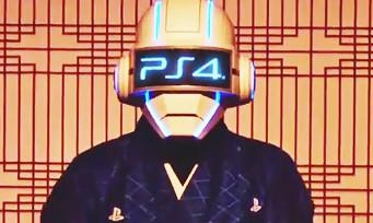 PS4 : une pub japonaise façon Daft Punk pour le line-up de la console