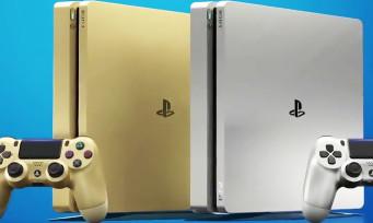 PS4 : trailer de présentation des modèles Gold & Slim