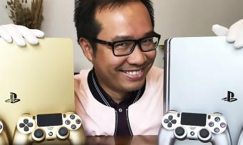 PS4 Gold & Silver : notre unboxing avec nos gants blancs de velours