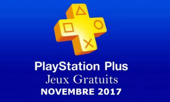 PS Plus : voici la liste des jeux gratuits du mois de novembre 2017