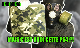 PS4 : notre unboxing complet de la console collector Call of Duty WW2