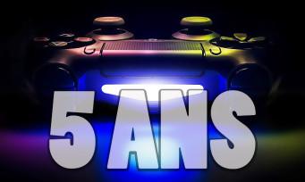 PS4 : un trailer aux chiffres vertigineux pour fêter les 5 ans de la console