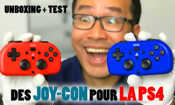 Hori Mini Gamepad : notre unbxing et notre test des Joy-Con de la PS4