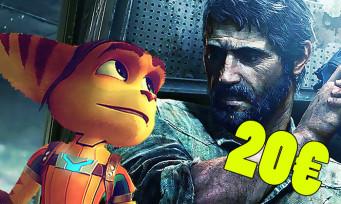 PS4 : Sony annonce les PlayStation Hits, plein de gros jeux à 20 euros