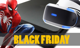 Black Friday : des prix très agressifs pour la PS4, le PS VR et les accessoires