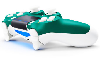 PS4 : la manette Alpine Green se dévoile avec un vert tapant qui surprend
