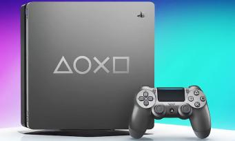 PS4 : une console collector gris acier pour les Days of Play 2019
