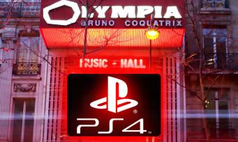 PlayStation : il sera bientôt possible de jouer à la PS4... à l'Olympia de Paris !