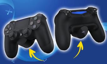 PS4 : Sony vient d'annoncer une extension dorsale pour la DualShock 4