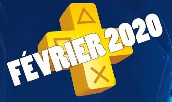 PlayStation Plus : voici les jeux gratuits du mois de février 2020