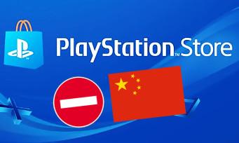 PlayStation Store : la plateforme fermée en Chine jusqu'à nouvel ordre