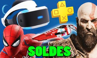 PS4 : jeux, PS Plus, PS VR, des énormes promotions