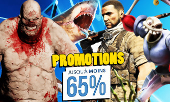 PS4 : des jeux en réduction jusqu'à +65%, les voici tous