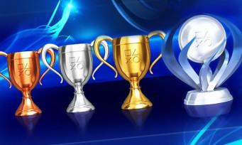 PlayStation : le système de Trophées se voit remanié, toutes les infos !