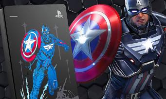 PS4 : un disque dur Marvel's Avengers collector chez Seagate, il est superbe