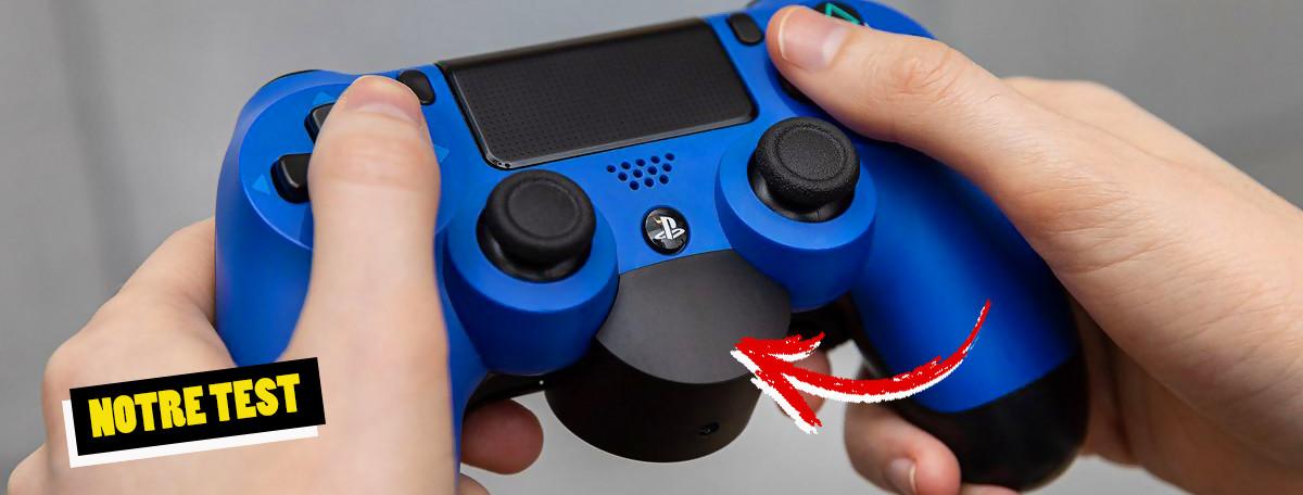 Test Fixation dorsale DualShock 4 : un avant-goût de la manette PS5 ?