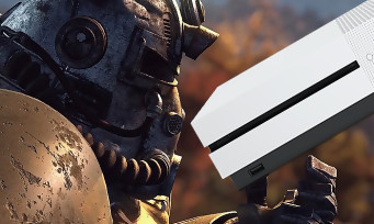 Xbox One X : un pack Robot White Special Edition avec Fallout 76