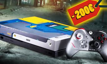 Cyberpunk 2077 : 200 euros de promo sur la Xbox One X collector