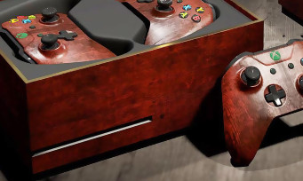 Xbox One : une console collector en forme de coffre pour Gwent Witcher 3