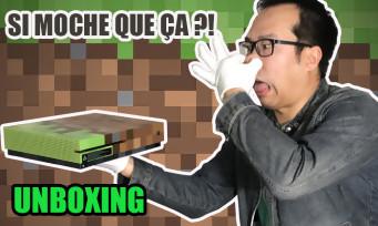 Xbox One S Minecraft : est-elle vraiment laide ? Réponse avec notre unboxing