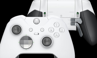 Xbox One Elite Pro : le trailer de la manette couleur blanche