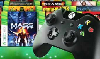Xbox One : la liste des jeux rétrocompatibles s'allonge